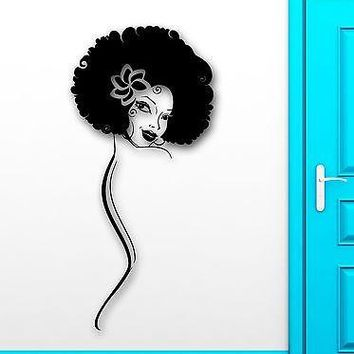 Wall Sticker Vinyl Decal Hot Sexy Girl Black Lady Cool Room Decor Unique Gift (ig2223)