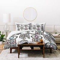 Sharon Turner Gemstone Dreamcatcher Duvet Cover