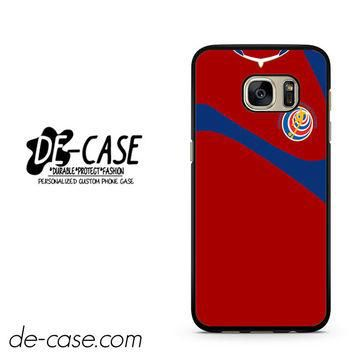 Costa Rica Soccer Jersey DEAL-2830 Samsung Phonecase Cover For Samsung Galaxy S7 / S7