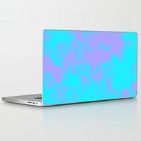 Cotton Candy Clouds - Purple & Blue Laptop & iPad Skin by Moonshine Paradise | Society6