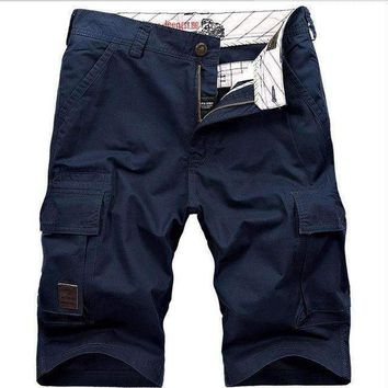 Mens Cargo Cotton Shorts