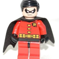 LEGO DC Comics Super Heroes Batman Minifigure - Robin (Red)