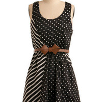 Bow Crazy for Prints Dress | Mod Retro Vintage Printed Dresses | ModCloth.com