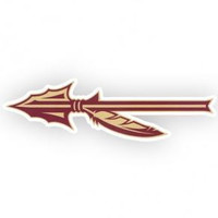 NCAA Florida State Seminoles Arrow 2x6 Decal