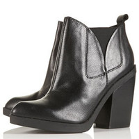 AGGRO High Chelsea Boots - Heel Boots - Boots  - Shoes