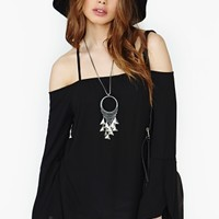 Free Thinker Top - Black