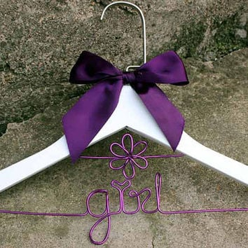 Children's Hanger, Personalized Hanger, Baby Hanger, Baby Name Hanger, Toddler Accessories, Baby Shower Gift