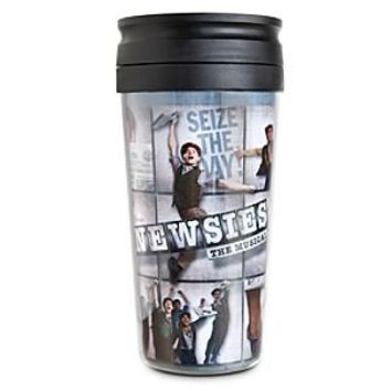 Disney on Broadway: Newsies The Musical Travel Mug | Disney Store