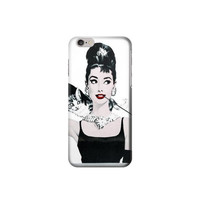 P7054 Audrey Hepburn Breakfast at Tiffany Case For IPHONE 6 PLUS
