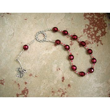 Eupheme Pocket Prayer Beads: Greek Goddess of Praise and Triumph