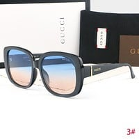 GUCCI Fashion New Women Men Sun Protection Travel Leisure Glasses Eyeglasses 3#