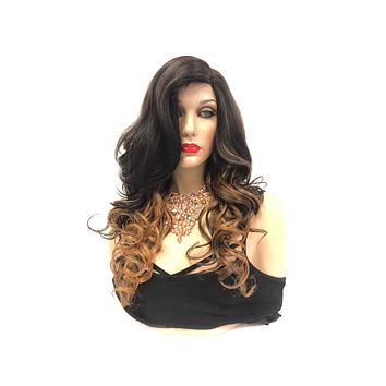 """Ombre Blonde Lace Front Wig 