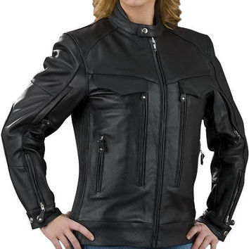 Handmade women black leather jacket, women's black biker leather jacket belted collar, pure leather jackets