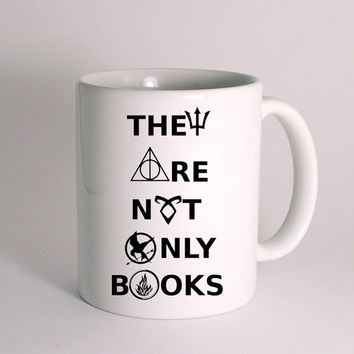 Divergent hunger game harry potter book quotes for Mug Design