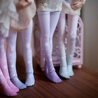 ombre stars bjd stockings  MSD / SD / Blythe / tiny