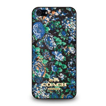 COACH NEW YORK MEADOW iPhone 5 / 5S / SE Case Cover