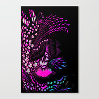 Hidden Face Canvas Print by ES Creative Designs