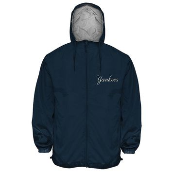 New York Yankees Hooded Wind Jacket - Big &