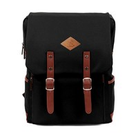 Icon Cool Backpack for School Casual Laptop Daypack for Men/women (Black):Amazon:Clothing