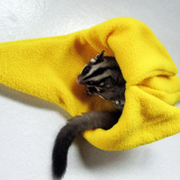 how to make a sugar glider bonding pouch
