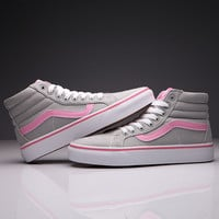 Trendsetter VANS SK8-Hi Fashion Flats Ankle Boots Sneakers Sport Shoes
