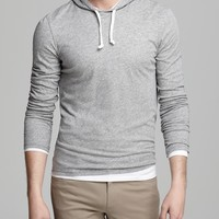 Vince Double-Layer Hoodie