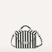 TWO - TONE STRIPED CROSSBODY BAG-View all-BAGS-WOMAN | ZARA United States