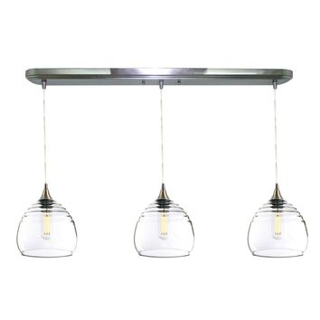 Lucent 3 Pendant Linear Chandelier: Form No. 302b