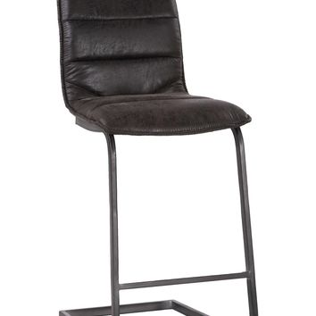 Radiant Barstool Black-Set Of Two