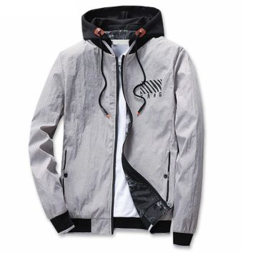 Army Printed Cool Bomber Pilot Hooded Jacket