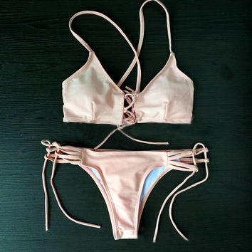 Pink Comfortable Swimsuits for Summer