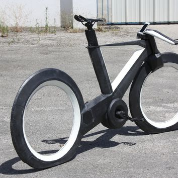 THE CYCLOTRON BIKE - Revolutionary Spokeless Smart Cycle