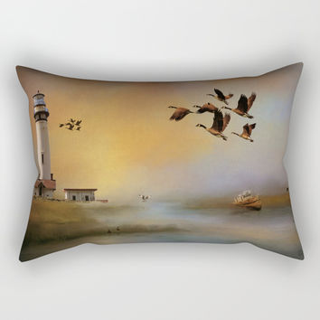 Homeward Bound Rectangular Pillow by Theresa Campbell D'August Art
