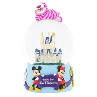 disney greetings from walt disney world cheshire cat musical snowglobe new