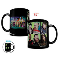 Suicide Squad Worst Heroes Ever 15 Oz Morphing Mug