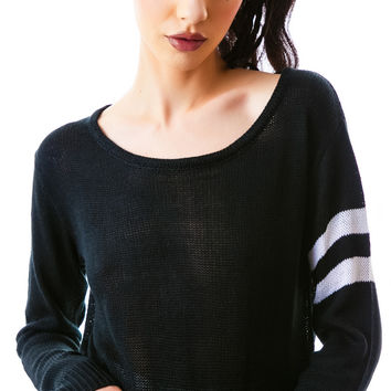 POL Clothing Living A Line Crop Top