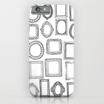 picture frames mono iPhone & iPod Case by Sharon Turner   Society6