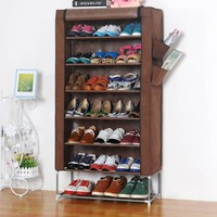 Dustproof Korean Multi-function Storage Shoes Shoes Rack [45988741145]