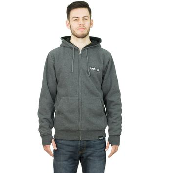 Embroidered New Style Treelogo Sherpa Zipper Hoodie