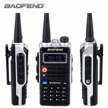 ONETOW Baofeng Walkie Talkie BF-UVB2PLUS VHF/UHF Dual Band DCS Ham Two Way Transceiver