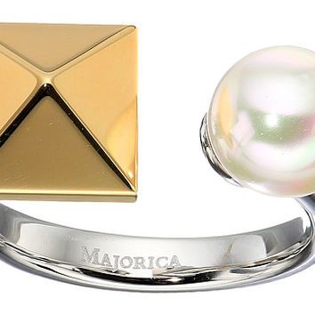 Majorica Why Not? Two-Tone Ring White - Zappos.com Free Shipping BOTH Ways