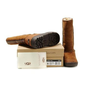 Black Friday Uggs Boots Ultra Tall 5245 Chestnut For Women 85 77
