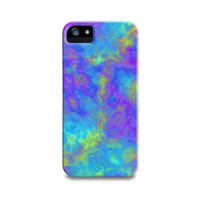 Psychedelic Mushrooms Effects iPhone 5 Case, iPhone 4, iPhone 4S, Samsung Galaxy S4, iPhone5 Case, iPhone Cover, Teen Turquoise Phone Case