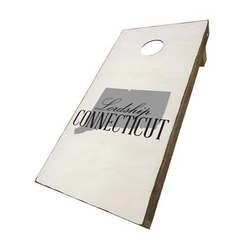 Lordship Connecticut with State Symbol | Corn Hole Game Set