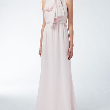 Silk chiffon dress, pink - ERA Max Mara