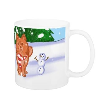 Snow Puppy Coffee Mug