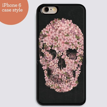 iphone 6 cover,skull black flowers skull iphone 6 plus,Feather IPhone 4,4s case,color IPhone 5s,vivid IPhone 5c,IPhone 5 case Waterproof 299