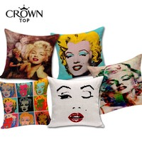 "18"" Marilyn Monroe Cushion Covers"