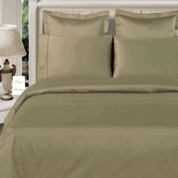 Sage-Green 100% Viscose from Bamboo 4pc Comforter Cover Set