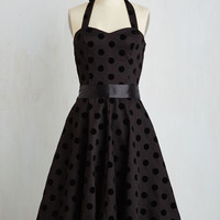 Pinup Sleeveless Fit & Flare Rockabilly My Whirl Dress